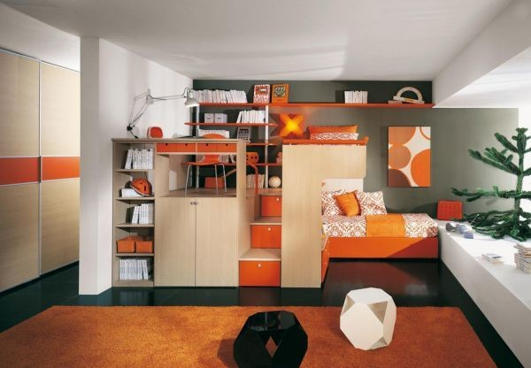 Kids Bedroom Furniture for Small Rooms 600 x 416