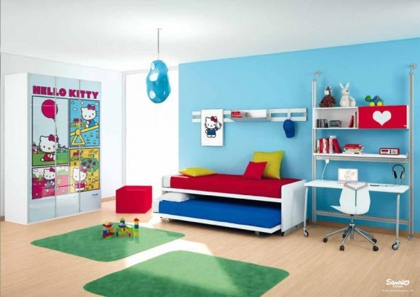 Letto A Castello Cia International.Hello Kitty Bedrooms